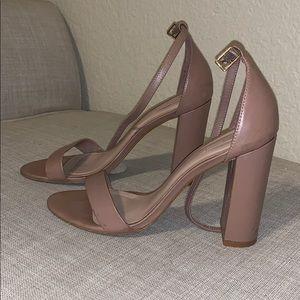 Tan aldo heels
